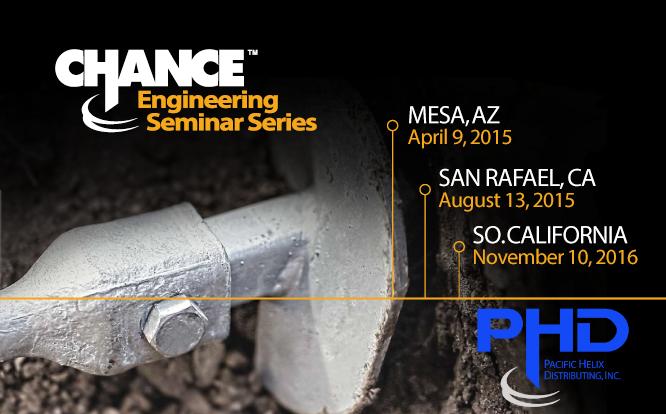 Chance Engineering Seminar Series November 10, 2016