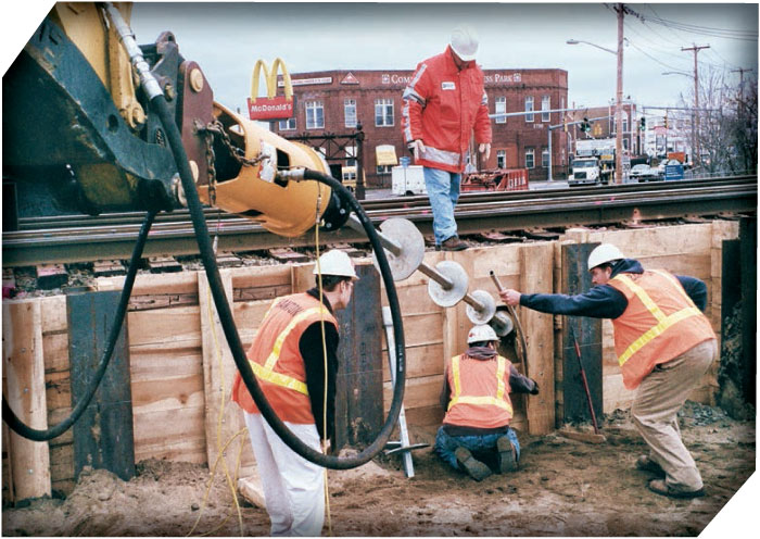 Pacific Helix Distributing - Helical Anchor Installation